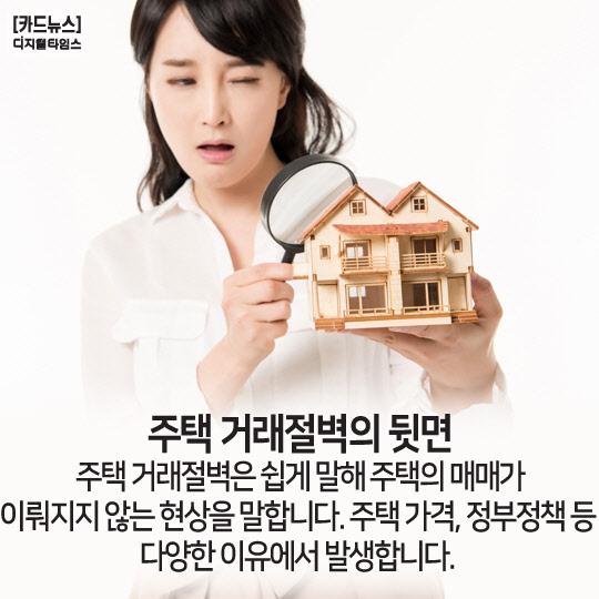[카드뉴스] 주택 거래절벽의 뒷면